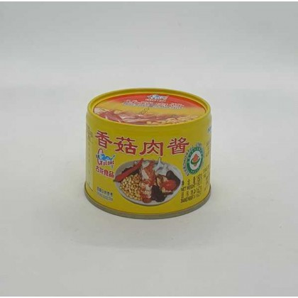 Gulong Pork Minced with Bean Paste 180g 香菇肉酱