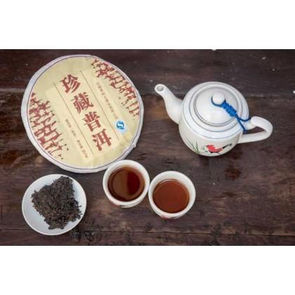 Pu Er /pcs 珍藏普洱 雲南  熟饼 tea