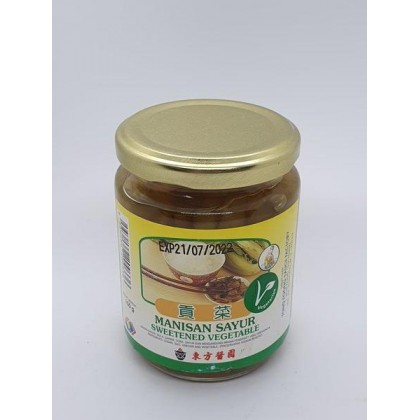 Tong Foong Sweetened Vegetable (150g) 东方酱园贡菜
